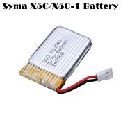 3.7v 680mAh batteria drone quadcopter per syma x5C x5C-1 x5sc x5sw cheerson cx30w cx30s