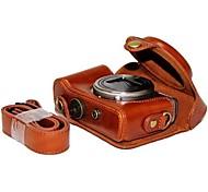 pajiatu® пу камера кожа кожа масло защитный чехол Обложка сумка для Sony DSC-hx50v hx60 HX50 HX30 hx10 LCJ-ны