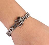 Fashion Claw Shape Men's Silver Alloy Tennis Bracelet(1 Pc)