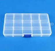 cheap -Women's Jewelry Boxes Square Transparent Resin Fashion Daily
