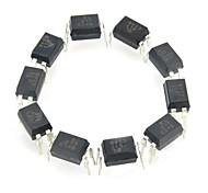 EL817 железа + пластиковые оптические разветвители / оптроны - черный (10 шт)
