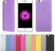 ultradünne bereifte 0.3mm Abdeckung für iphone 6 (verschiedene Farben)