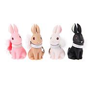 Key Chain Toys Key Chain Rabbit ABS Cartoon 4 Pieces Birthday Children's Day Gift
