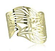 Недорогие -мода контракт панк золотой акации листья полые браслет браслеты
