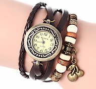 cheap -Women's Quartz Bracelet Watch PU Band Bohemian / Fashion Black / White / Blue / Red / Orange / Brown / Green