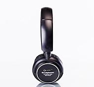 Недорогие -Стерео-наушники со встроенным MP3 плеером и FM радио (черные)