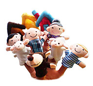 cheap -Sheep Toys Finger Puppets Puppets Cartoon Textile Plush Girls' Boys' Gift