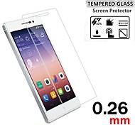 Недорогие -Защитная плёнка для экрана Huawei для Huawei P7 Закаленное стекло 1 ед. HD