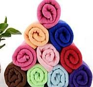 baratos -fibra superfina multifuncional toalha seca velocidade retangular (cor aleatória)