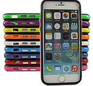 Silicone Bumper Frame Case for iPhone 6/6S (Assorted Color)