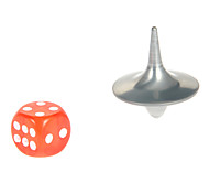 Inception Gyro Cobb Norlan Spinning Top with Dice Novelty Toys(Silver)
