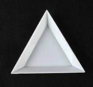 Caixa de armazenamento kit 1pcs triangular nail art