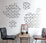 cheap -Still Life Shapes Architecture Wall Stickers Plane Wall Stickers Decorative Wall Stickers, Vinyl Home Decoration Wall Decal Wall