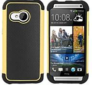Для Кейс для HTC Защита от удара Кейс для Задняя крышка Кейс для Армированный Твердый PC HTC HTC One M8 / HTC One M7