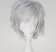 Недорогие -Косплэй парики Токио вурдалак Кен Kaneki Аниме Косплэй парики 32 См Термостойкое волокно Муж.