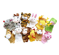 cheap -Animal Finger Puppets Puppets Cartoon Textile Plush Girls' Boys' Gift