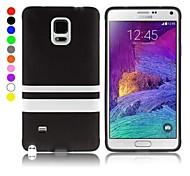 Недорогие -enkay prptective случай ТПУ назад для Samsung Galaxy Примечание 4 n9100