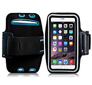 Недорогие -Кейс для Назначение iPhone 6s Plus iPhone 6 Plus универсальный с окошком Нарукавная повязка С ремешком на руку Сплошной цвет Мягкий
