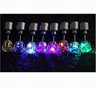 Недорогие -Жен. Серьги-гвоздики LED Платиновое покрытие Бижутерия Свадьба Для вечеринок Повседневные Спорт Бижутерия