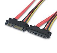 Недорогие -SATA мужчин и женщин кабеля для передачи данных кабель 0,3м 0.984ft