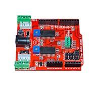 itead два канала шаговый двигатель привода расширение щит настольные для Arduino - красный