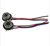 cheap -1157 Socket Car Bulb Holder Adapter--2PCS