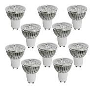 4W GU10 LED Spotlight 4 leds High Power LED Warm White Cold White Natural White 350-400lm 2800-3000/4000-4500/6000-6500K AC 85-265V