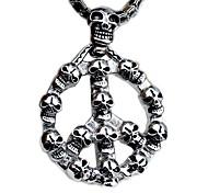 мода титана стальной каркас человек ожерелье