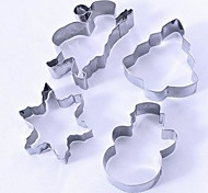 Mold For Cake / For Cookie Stainless Steel Christmas / Holiday