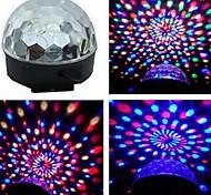 economico -voce attivata rgb led colorato rotante lampadina della luce spot per la festa ci spina