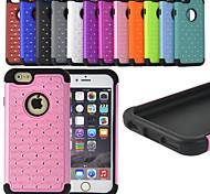 Недорогие -fitin® горный хрусталь украшения ударопрочный защитный чехол для iPhone 6 Plus (разных цветов)