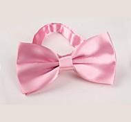 Недорогие -Универсальные Винтаж Для вечеринки Для офиса На каждый день Бабочка,Все сезоны Полиэстер Однотонный Розовый