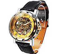 cheap -Personalized Fashionable Men's Watch Mechanical Hollow Engraving