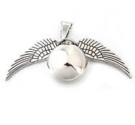 Кулоны Металл Round Shape серебро 1