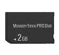Недорогие -2gb мс Memory Stick PRO Duo карты памяти для PSP 1000/2000/3000 игры