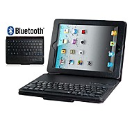 Faux Leather Flip Case with Built-in Bluetooth Keyboard for iPad 2/3/4(Assorted Colors)