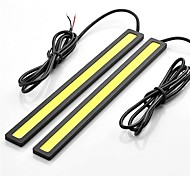 cheap -SO.K 2pcs 12 V Decoration Daytime Running Light / Strip Light