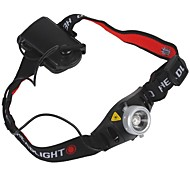 cheap -Headlamps LED 500 lm 2 Mode Zoomable Cycling/Bike Black