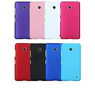 cheap -Case For Nokia Lumia 635 Nokia Nokia Case Shockproof Back Cover Solid Color Hard PC for