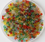 cheap -600PCS Multicolor Crafts Pony Beads 2mm Handmade DIY Craft Material/Clothing Accessories