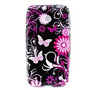 Pink Butterly TPU Solf Cover for Nokia Lumia 630/635 Cases / Covers for Nokia