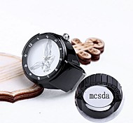 Personalized Gift Alloy Ring Watch Engraved Jewelry