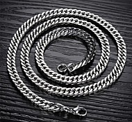 Male Atmosphere Ruggedly Personality an Titanium Steel Necklaces Christmas Gifts