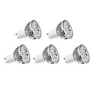 cheap -360 lm GU10 LED Filament Bulbs 4 leds High Power LED Warm White AC 220-240V