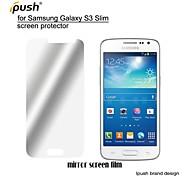 Недорогие -высокая прозрачность зеркало ЖК-экран протектор для Samsung Galaxy S3 Slim / g3812