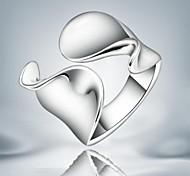 Недорогие -Жен. Сплав Заявление - Мода Серебряный Кольцо Назначение Свадьба Для вечеринок Повседневные