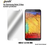 высокая прозрачность зеркальный экран ЖК-протектор с Ткань для очистки для Samsung Galaxy Примечание 3 нео