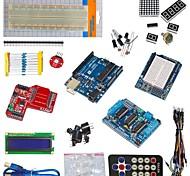 Недорогие -funduino ООН r3 + L293D приводной двигатель + модуль беспроводной передачи данных