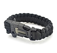 cheap -Fire Starter Survival Whistle Survival Bracelet Hiking Survival Whistle Nylon Alloy pcs