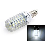 E14 Bombillas LED de Mazorca T 36 leds SMD 5730 420lm Blanco Fresco 6000-6500 AC 100-240